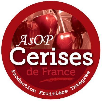Logo AOP Cerises de France